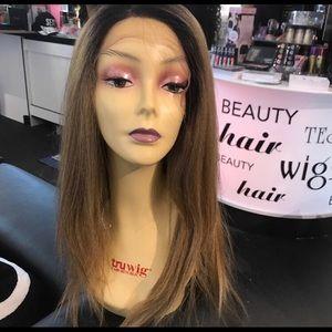 Accessories - Wig ombré blonde mix Freepart Lacefront Swisslace